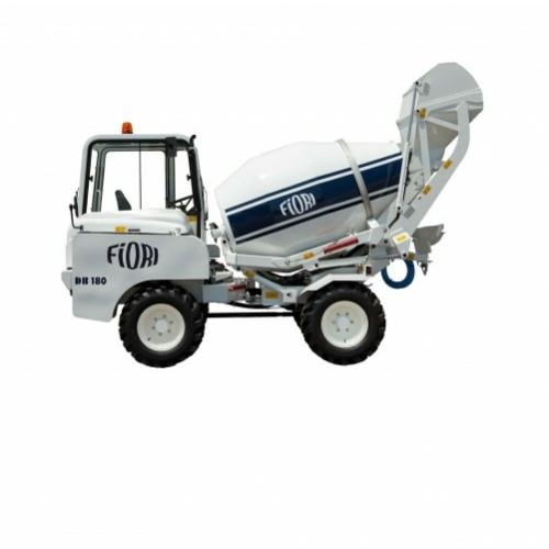 FIORI DB180 önjáró és önrakodó betonkeverő