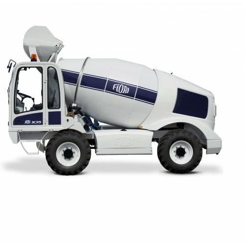 FIORI DBX35 önjáró és önrakodó betonkeverő