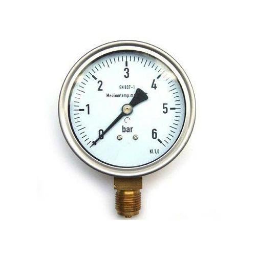 Nyomásmérő órák glicerines (levegő, víz)