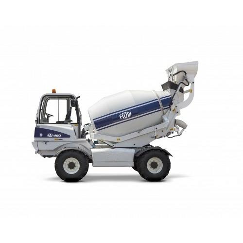 FIORI DB 460 önjáró és önrakodó betonkeverő