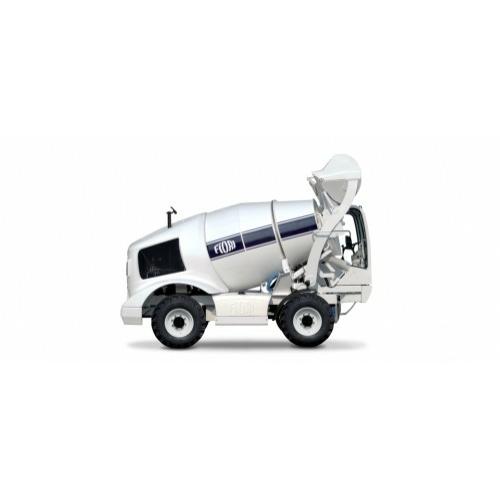 FIORI DB X50 Önjáró és Önrakodó Betonkeverő