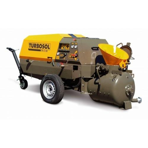 Estrich pumpa beépített kompresszorral Turbosol Transmat 27.45 DC kivitelben