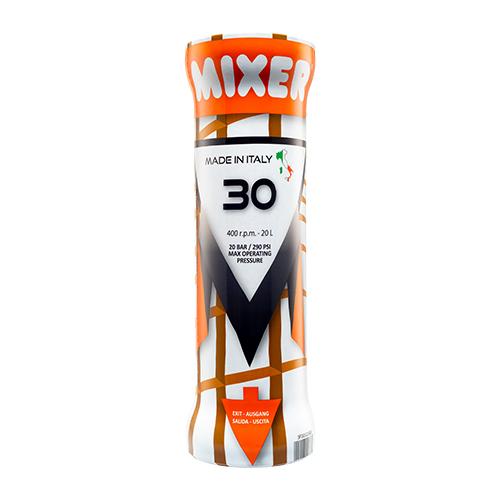 Mixer 30 Slimline Csigaköpeny 230V Egyfázisú Vakológépkehez (Giotto Mono, Monomix, PFT, Putzmeister....)