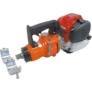 Kép 2/2 - EDILGRAPPA TPS 22 N, vasvágó- és hajlító gép (cserélhető fejekkel - Honda motoros)