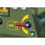 Kép 8/10 - Estrich pumpa beépített kompresszorral Turbosol Transmat 27.45 DC kivitelben
