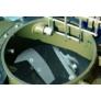 Kép 4/10 - Estrich pumpa beépített kompresszorral Turbosol Transmat 27.45 DC kivitelben