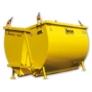 Kép 2/2 - Boscaro Daruzható Sittkonténer A-80S Model, 800 literes